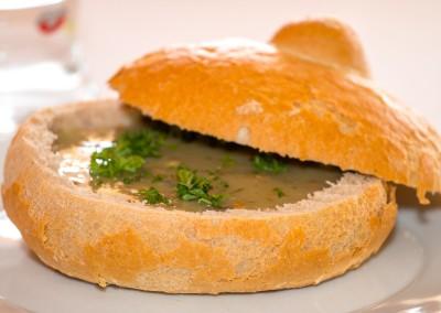 Polévka vchlebu